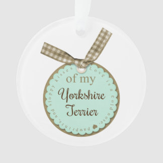 Ornamento Yorkshire terrier