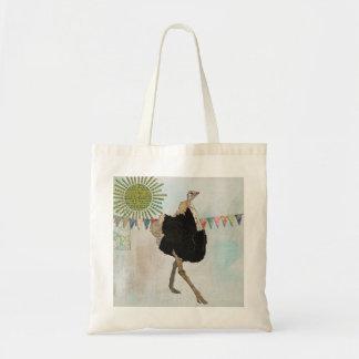 Ornate Ostrich Sunny  Bag