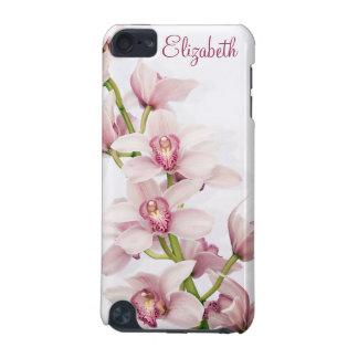 Orquídea cor-de-rosa do Cymbidium floral Capa Para iPod Touch 5G