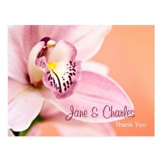 Orquídea • Obrigado cartão