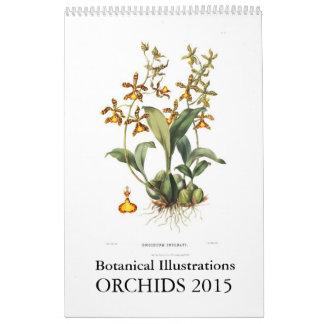 Orquídeas 2015 calendário