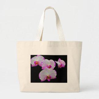 Orquídeas 3 bolsa tote grande