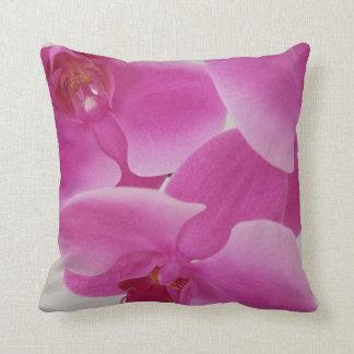 Orquídeas cor-de-rosa almofada