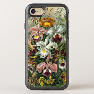 Orquídeas de Ernst Haeckel, flores da floresta Capa Para iPhone 7 OtterBox Symmetry