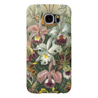 Orquídeas de Haeckel do vintage Capa Para Samsung Galaxy S6