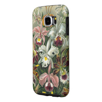 Orquídeas de Haeckel do vintage Capas Samsung Galaxy S6