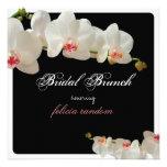 Orquídeas de PixDezines/refeição matinal nupcial/f Convite Personalizados