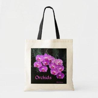 Orquídeas Orvalho-Beijadas Sacola Tote Budget