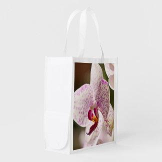Orquídeas Sacolas Reusáveis