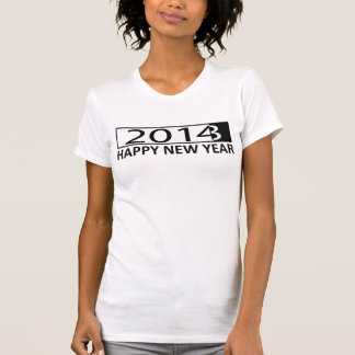 Os 2014 felizes anos novos camiseta