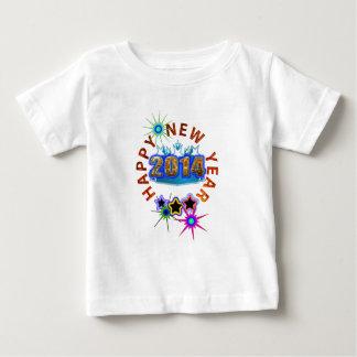os 2014 felizes anos novos t-shirts