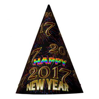 Os 2017 felizes anos novos de chapéu original da