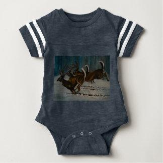 Os 3 cervos body para bebê