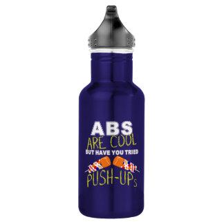 Os Abs são legal, têm-no garrafa de água tentada