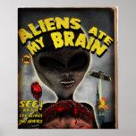 Os aliens comeram meu poster do cérebro