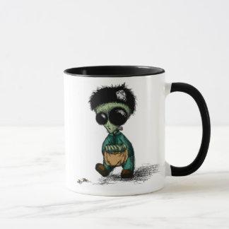 Os aliens são demasiado pessoas de caneca de café