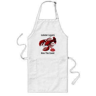 Os amantes da lagosta beijam o avental do