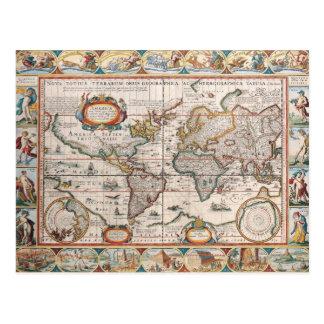 Os Americas 4 Cartão Postal