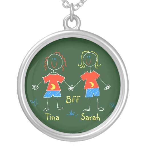 Os amigos da amizade da colar BFF personalizaram p
