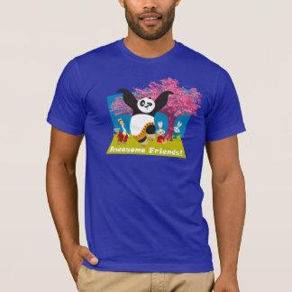 Os amigos impressionantes do Po Camiseta