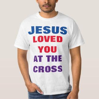Os amores de Jesus/diabo deiam o t-shirt