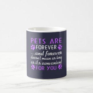Os animais de estimação são Forever Caneca De Café