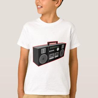 os anos 80 Boombox Camiseta