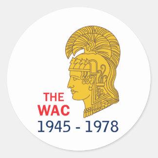 Os anos de WAC Adesivo