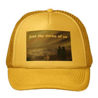 os apenas o três de nós boné