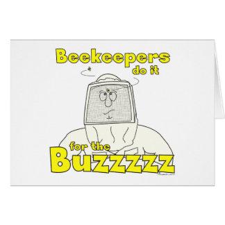 Os apicultor fazem-no para o Buzzzzz - cartões
