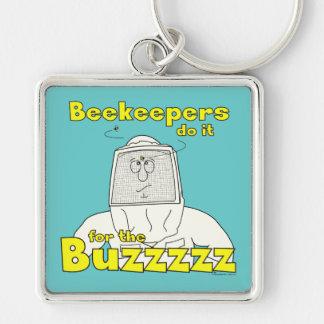 Os apicultor fazem-no para o Buzzzzz - chaveiro