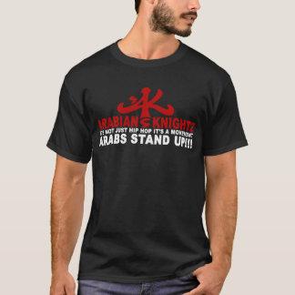 os árabes levantam-se camiseta