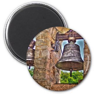 Os arcos da pedra da antiguidade da torre de Bell Ímã Redondo 5.08cm