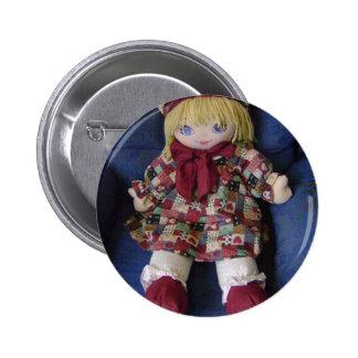 Os artigos das crianças múltiplas da boneca de pan botons