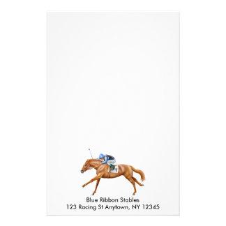 Os artigos de papelaria de vencimento do cavalo de
