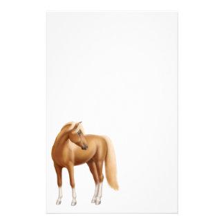 Os artigos de papelaria novos do cavalo da azeda