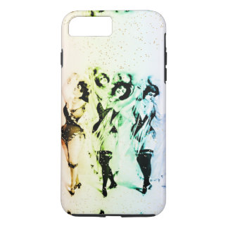 Os artistas do Victorian do arco-íris de Vinagette Capa iPhone 7 Plus
