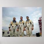 Os astronautas de Apollo 1 Impressão