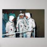 Os astronautas de Apollo 1 Posteres