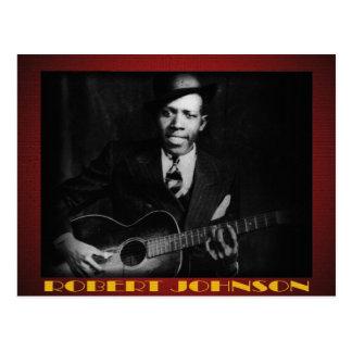Os azuis do cartão de Robert Johnson Cartão Postal