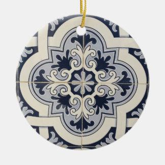 Os azulejos de Portugal personalizaram o ornamento