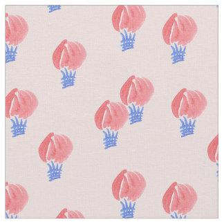 Os balões de ar pentearam o tecido de algodão