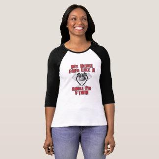 Os batimentos cardíacos gostam de uma camiseta das