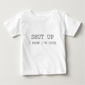 Os bebês são bonitos camiseta para bebê