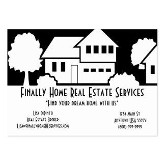 Os bens imobiliários prestam serviços de manutençã cartão de visita grande
