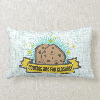 Os biscoitos do bebê   do chefe são para Closers! Almofada Lombar