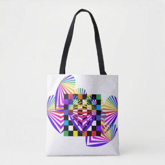 Os bolsas coloridos do verão do amor dos corações