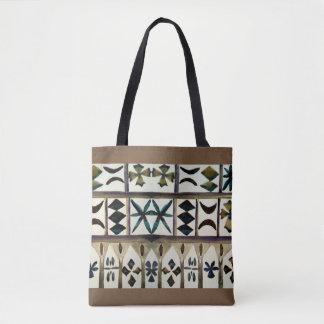 Os bolsas inspirados tribais polinésios da forma