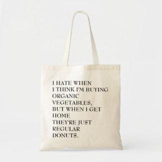 Os bolsas orgânicos das rosquinhas
