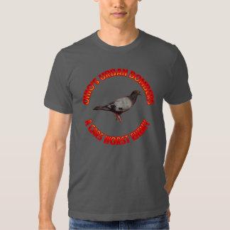 Os bombardeiros urbanos do Ohio dos homens T-shirts